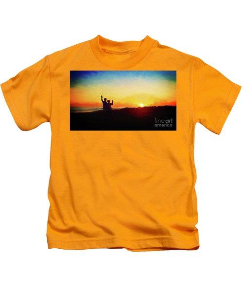 Goodnight Mr. Sun  Kids T-Shirt