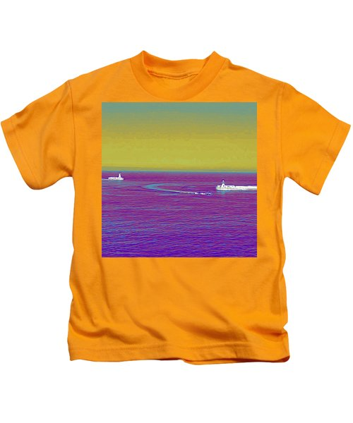 Purple Sea Kids T-Shirt