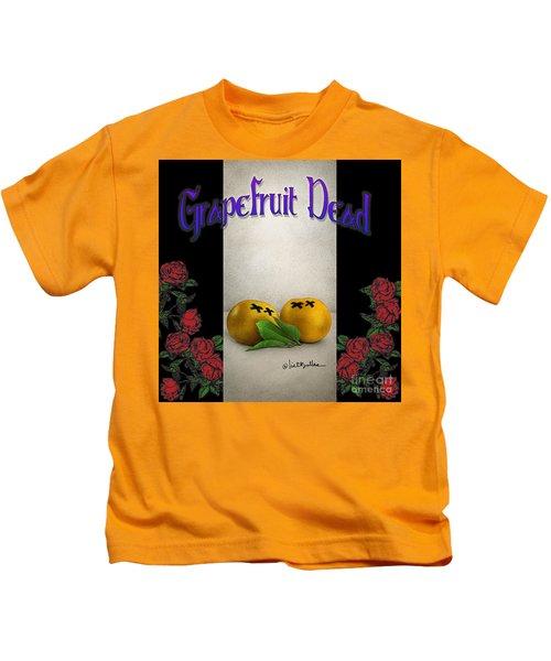 Grapefruit Dead... Kids T-Shirt