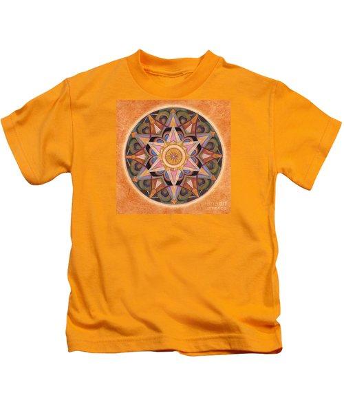 Gratitude Mandala Kids T-Shirt
