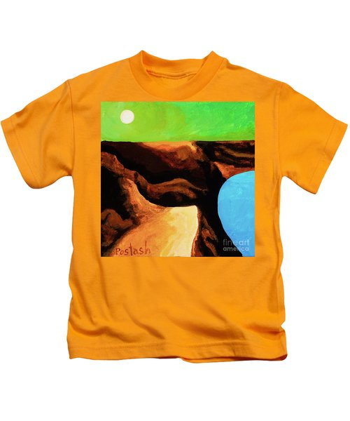 Green Skies Kids T-Shirt