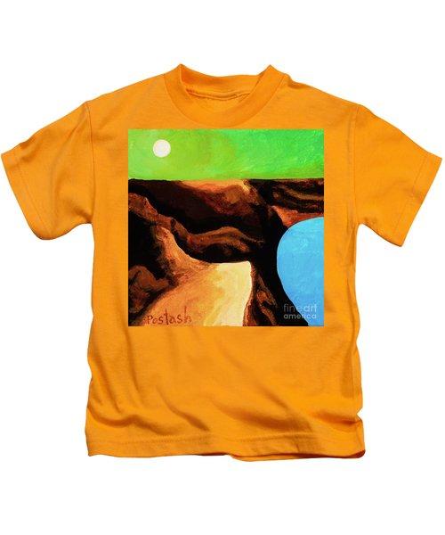 Green Skies Kids T-Shirt