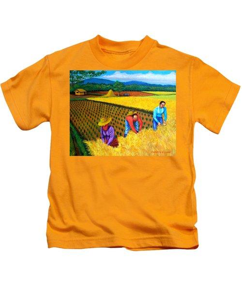 Harvest Season Kids T-Shirt