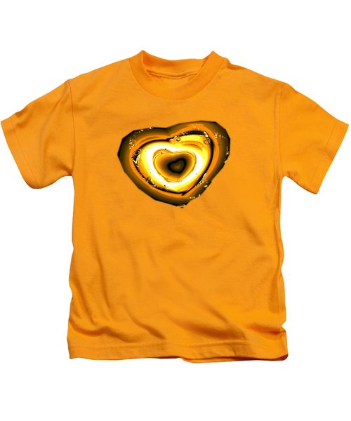 Heart Of Gold Kids T-Shirt