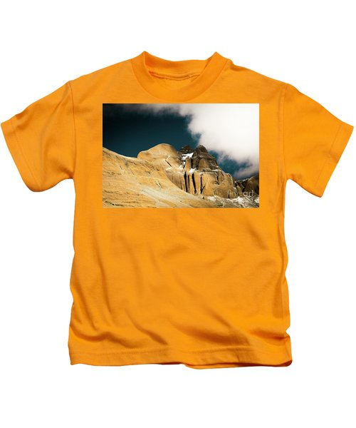 Himalayas Mountain Kailas Kora Tibet Yantra.lv Kids T-Shirt