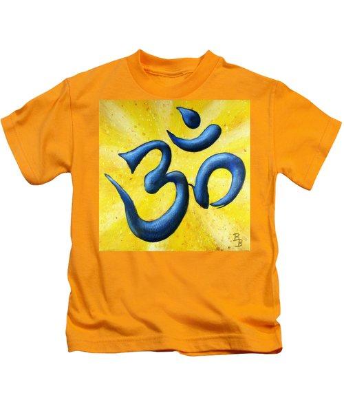 Hindu Om Symbol Art Kids T-Shirt