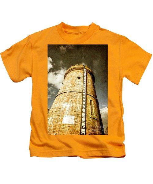 Historic Water Storage Structure Kids T-Shirt