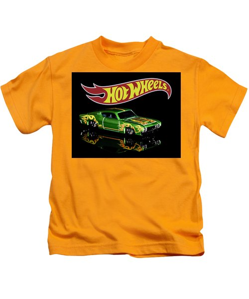 Hot Wheels '69 Ford Torino Talladega Kids T-Shirt