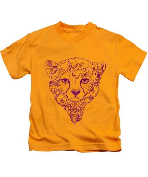 Iranian Cheetah Kids T-Shirt by Adam Campbell