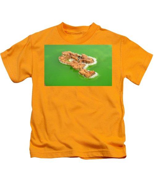 Dallol #4 Kids T-Shirt by Aidan Moran
