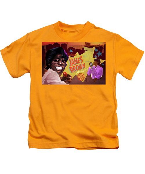 James Brown Kids T-Shirt