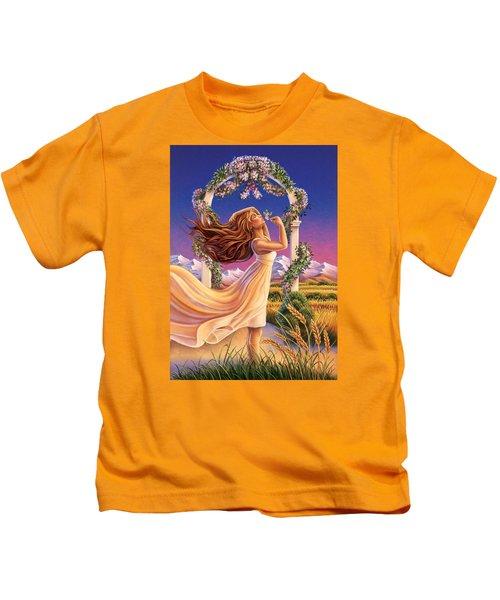 Jasmine - Sensual Pleasure Kids T-Shirt