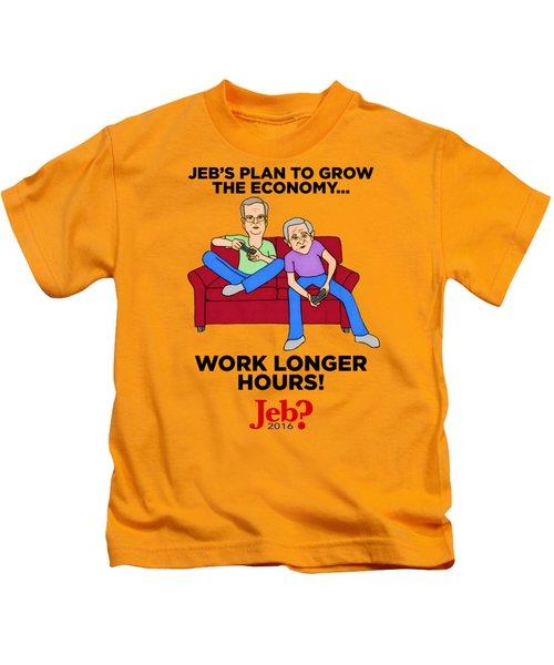 Jebbers Kids T-Shirt by Sean Corcoran