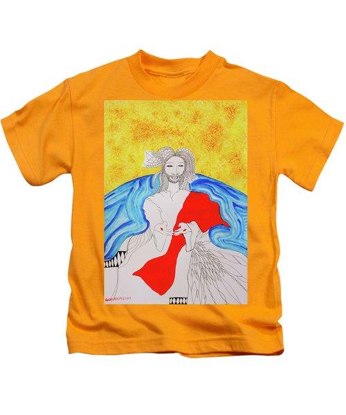 Jesus Messiah Second Coming Kids T-Shirt