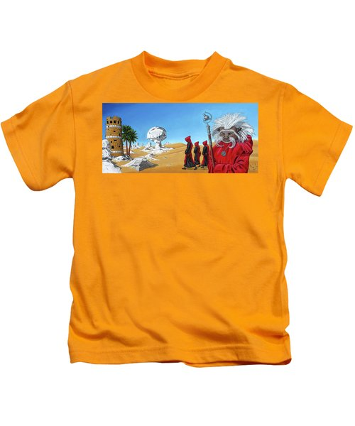 Journey To The White Desert Kids T-Shirt