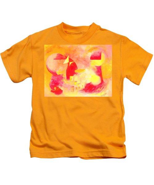 Joyful Abstract Kids T-Shirt