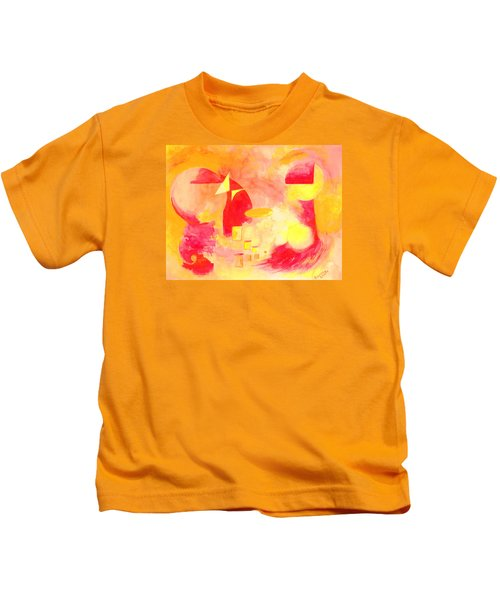Joyful Abstract Kids T-Shirt
