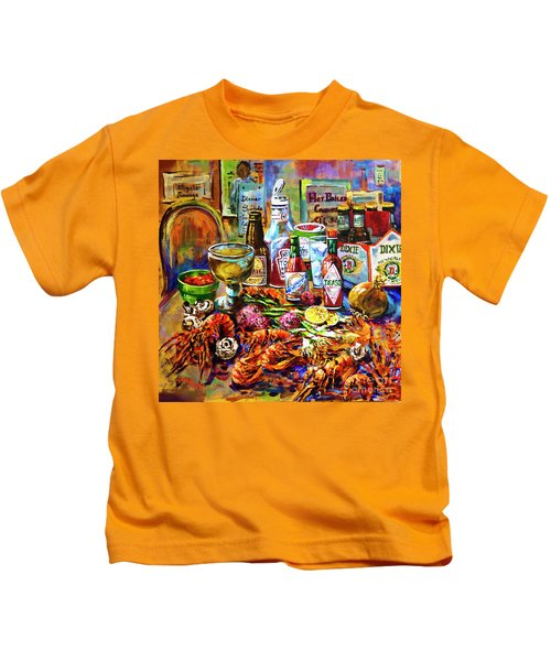 La Table De Fruits De Mer Kids T-Shirt