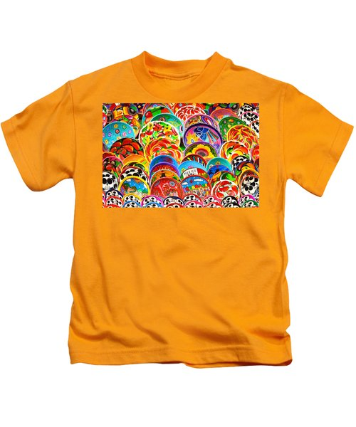 Land Of Brilliant Color Kids T-Shirt