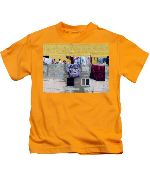 Laundry In Guanajuato Kids T-Shirt