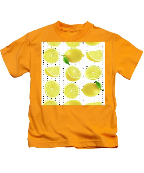 Lemon  Kids T-Shirt by Mark Ashkenazi