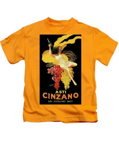 Leonetto Cappiello - Asti Cinzano Kids T-Shirt