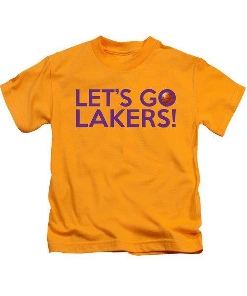 Let's Go Lakers Kids T-Shirt