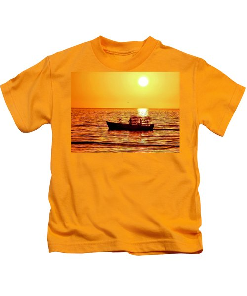 Life At Sea Kids T-Shirt