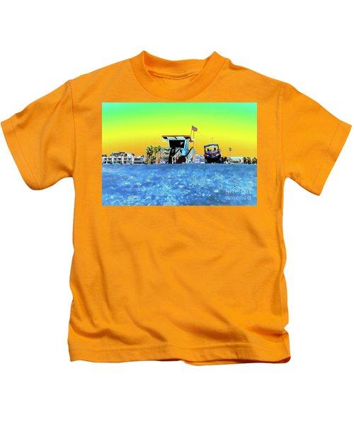 Lifeguard Tower 1 Kids T-Shirt