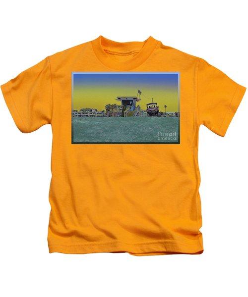 Lifeguard Tower 4 Kids T-Shirt