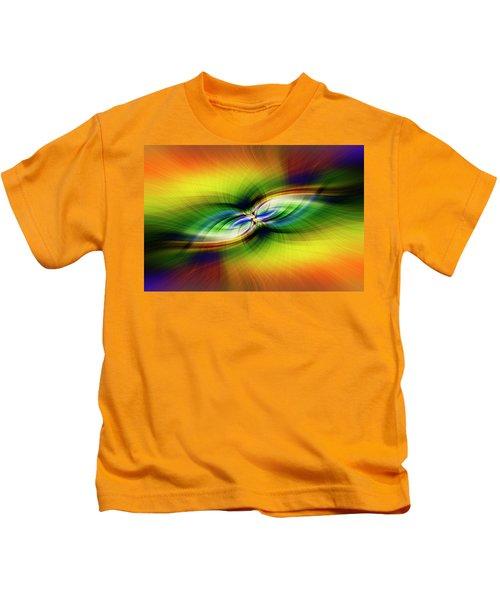 Light Abstract 9 Kids T-Shirt