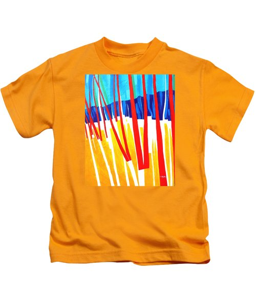 Light Through The Trees Kids T-Shirt