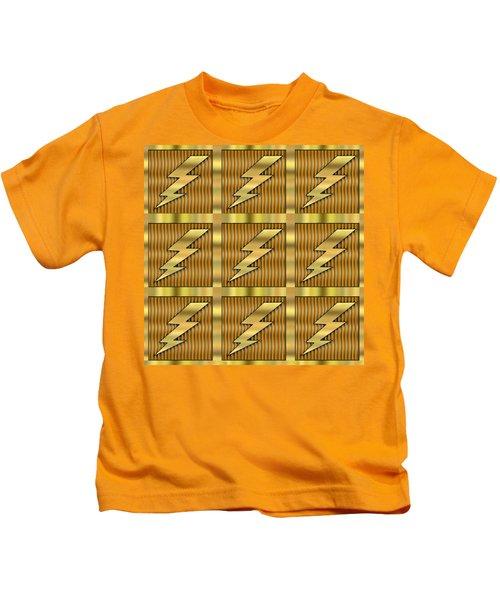 Lightning Bolt Group - Transparent Kids T-Shirt