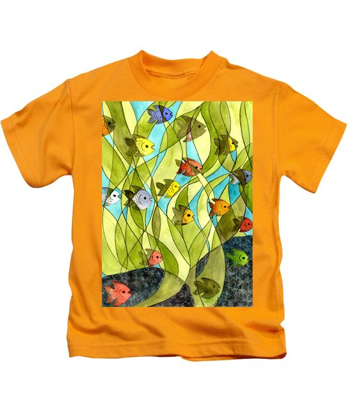 Little Fish Big Pond Kids T-Shirt