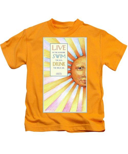 Live In The Sunshine Kids T-Shirt