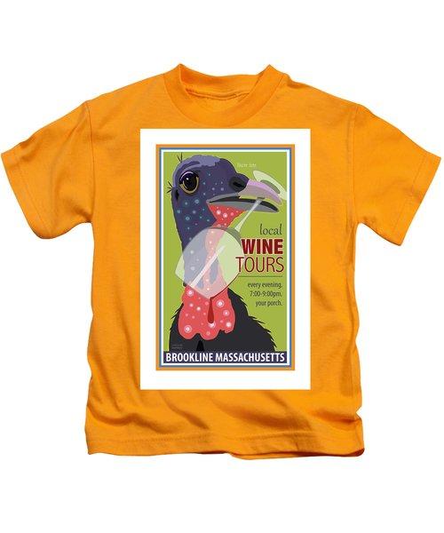 Local Wine Tours Kids T-Shirt