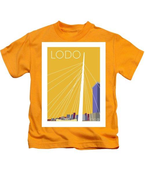Lodo/gold Kids T-Shirt