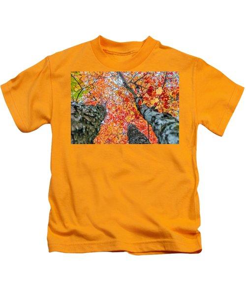Looking Up - 9743 Kids T-Shirt