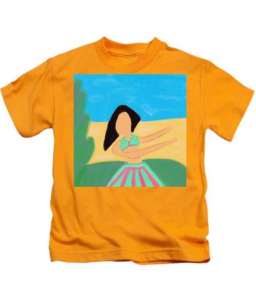 Love And Prayers To Hawaii Kids T-Shirt