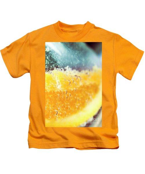 Macro Detail On A Club Orange Cocktail Kids T-Shirt