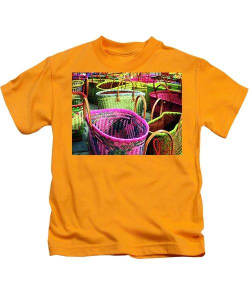 Market Baskets - Libourne Kids T-Shirt