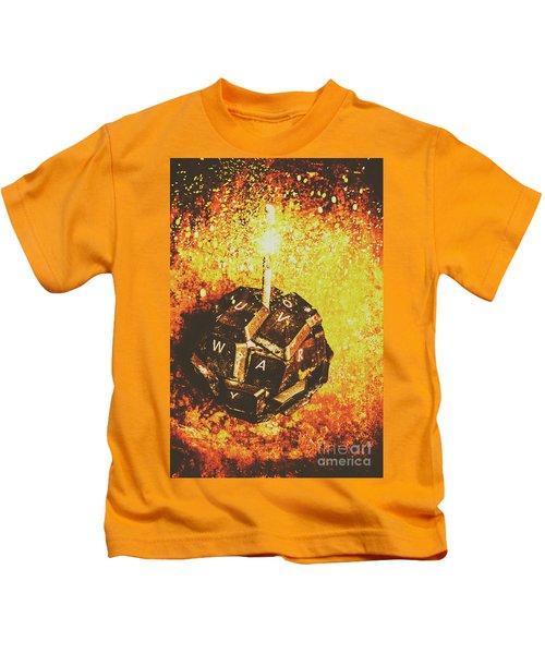 Media Meltdown Kids T-Shirt
