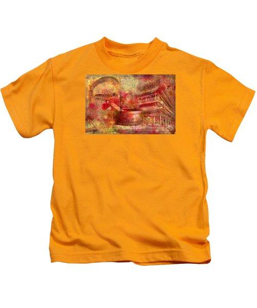 Meditative Montage 2015 Kids T-Shirt