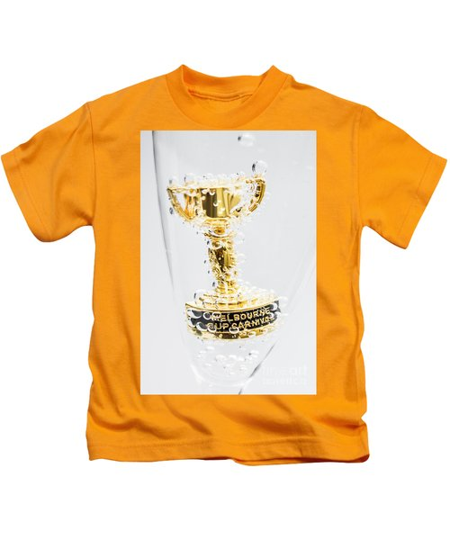 Melbourne Cup Winners Trophy Kids T-Shirt