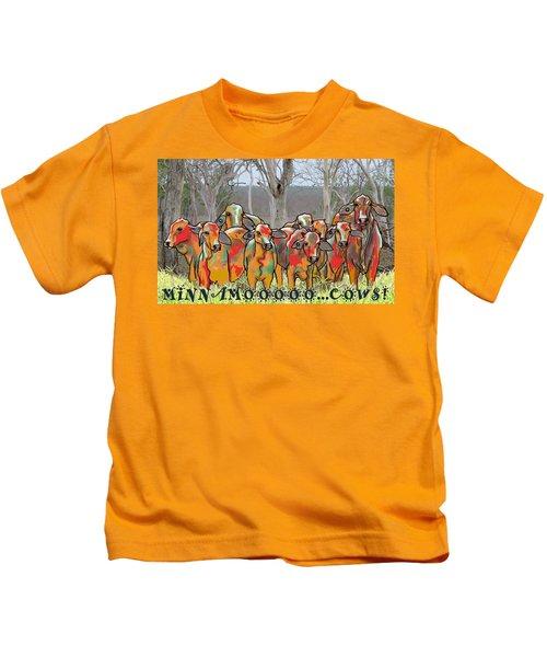 Minnamooooo...cows Kids T-Shirt