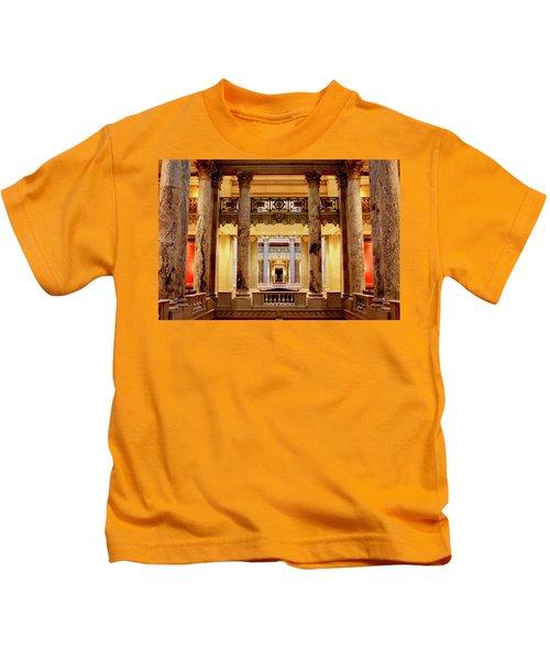 Minnesota Capitol Supreme Court Kids T-Shirt