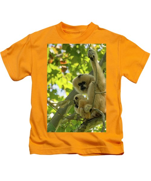 Mommy Gibbon Kids T-Shirt
