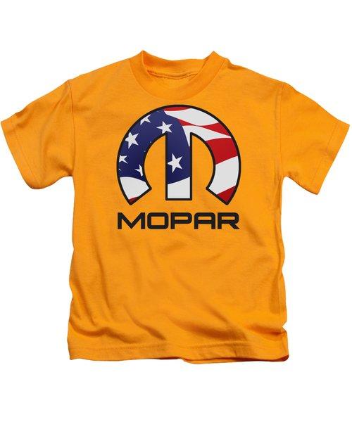 Mopar Usa Kids T-Shirt