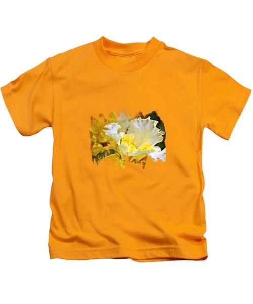 Morning Iris Kids T-Shirt by Thom Zehrfeld