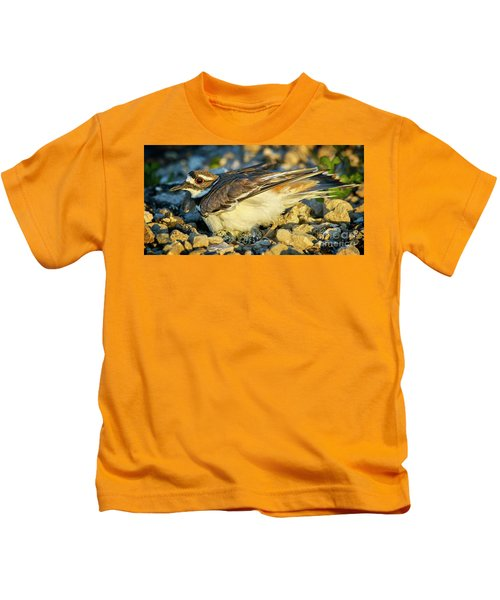 Mother Killdeer 3 Kids T-Shirt